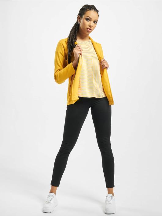 Stitch & Soul Sako Jersey žltá