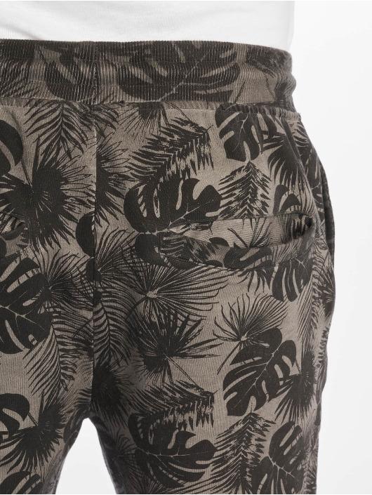 Stitch & Soul Shorts Plants grå