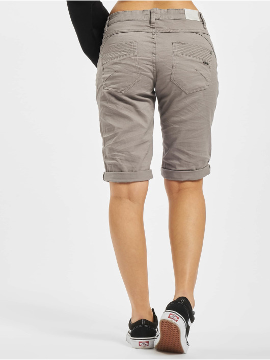 Stitch & Soul Shorts 5-Pocket Bermuda grå