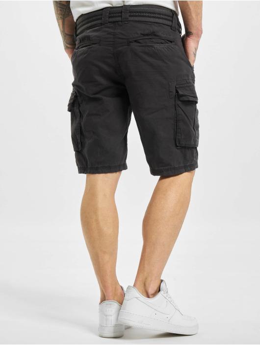 Stitch & Soul Shorts Cargo grau