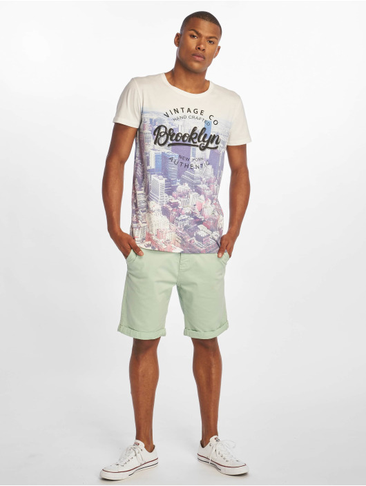 Stitch & Soul Shorts Chino Bermuda grün