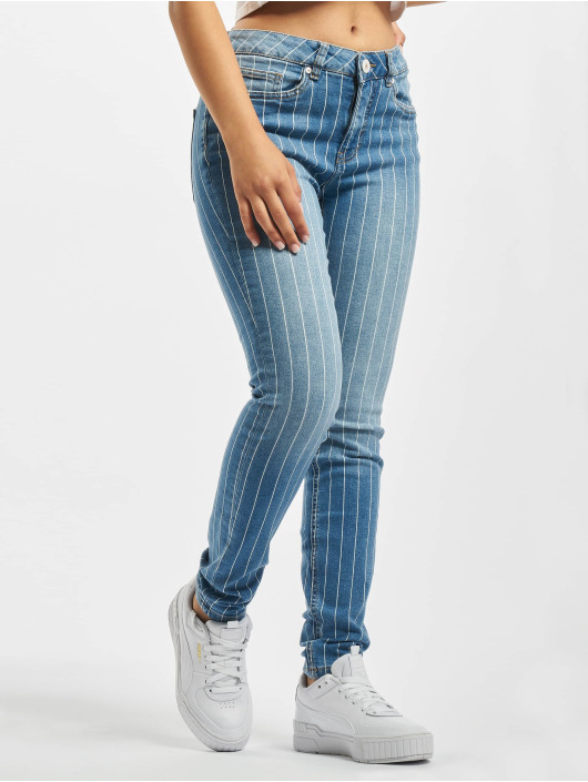 Stitch & Soul Skinny Jeans Odelia modrý