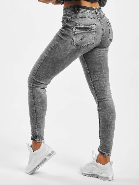 Stitch & Soul Skinny Jeans Gina szary