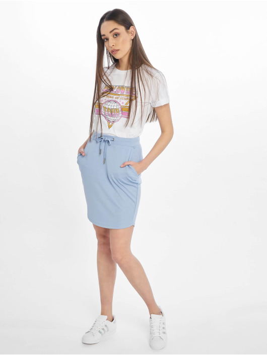 Stitch & Soul Skirt Sweat blue