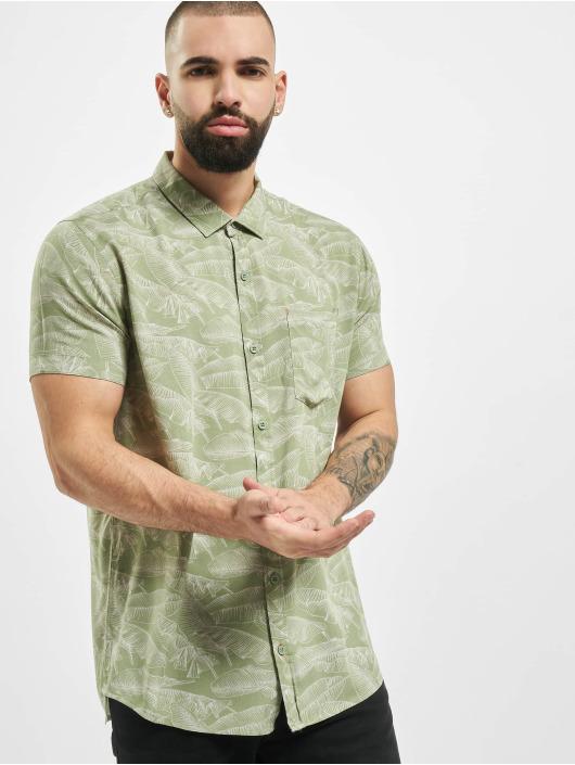 Stitch & Soul Skjorte Summer oliven