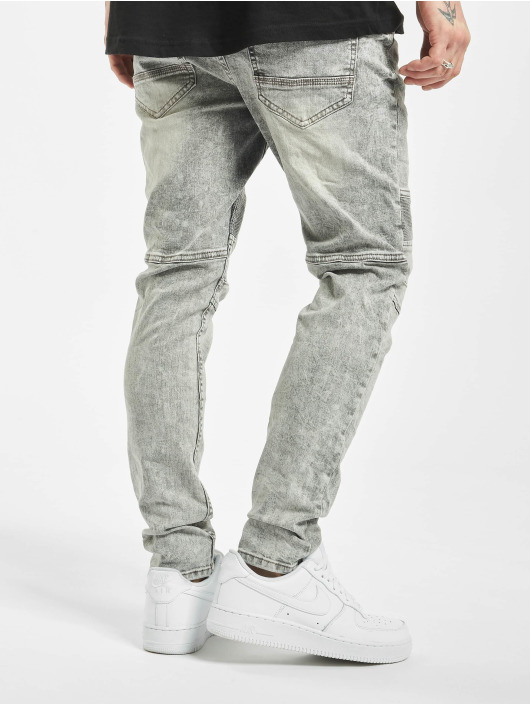 Stitch & Soul Slim Fit Jeans Acid Washed gray