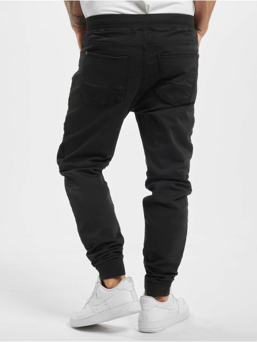 Stitch & Soul Spodnie wizytowe Panel czarny