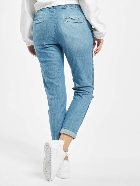 Stitch & Soul Spodnie wizytowe Denim niebieski