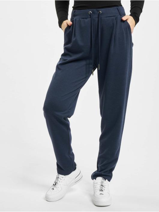 Stitch & Soul Spodnie wizytowe Leni niebieski
