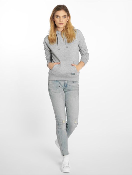 Stitch & Soul Sweat capuche Dots gris