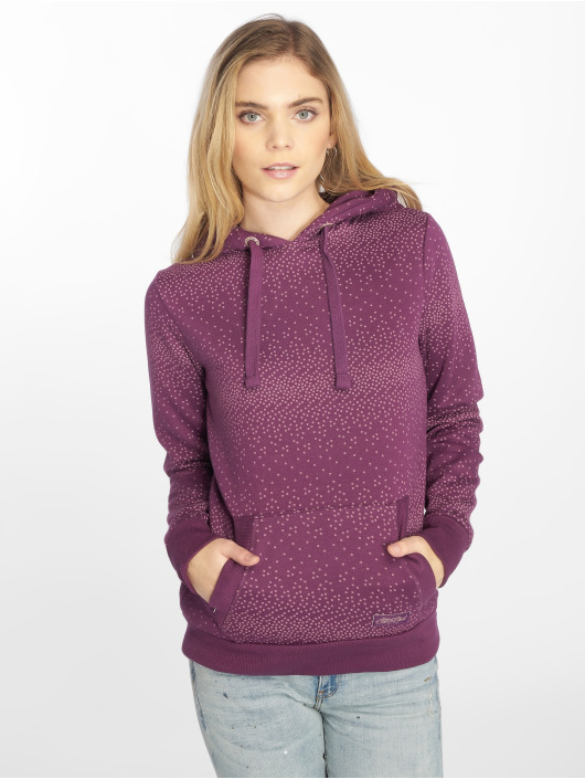 Stitch & Soul Sweat capuche Dots pourpre
