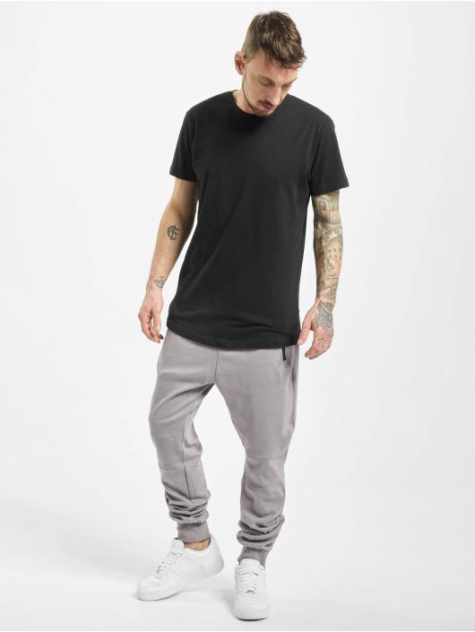 Stitch & Soul Sweat Pant Ribbed Knee gray
