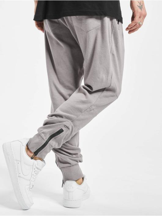 Stitch & Soul Sweat Pant Ribbed Knee grey