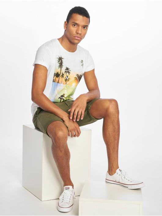 Stitch & Soul T-shirt Living Paradise bianco
