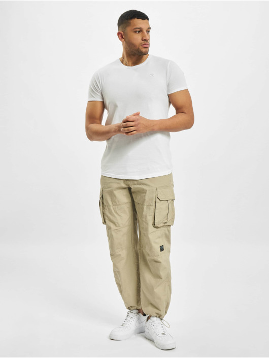 Stitch & Soul T-shirt Natural bianco