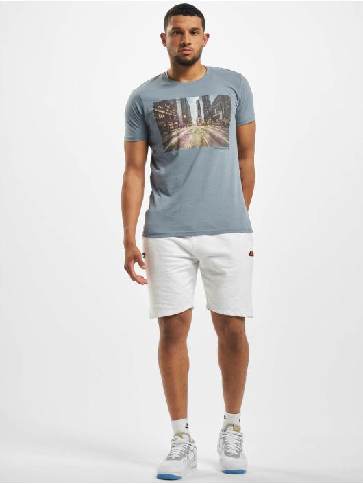 Stitch & Soul T-shirt Adventure blå