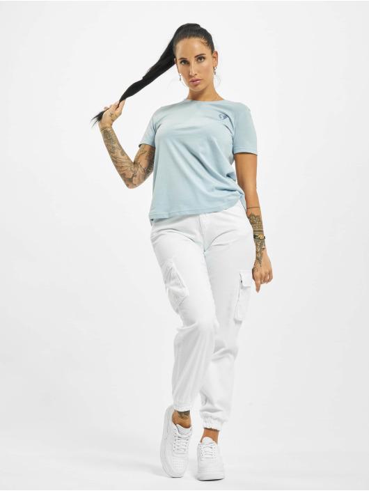 Stitch & Soul T-shirt Hearted blå