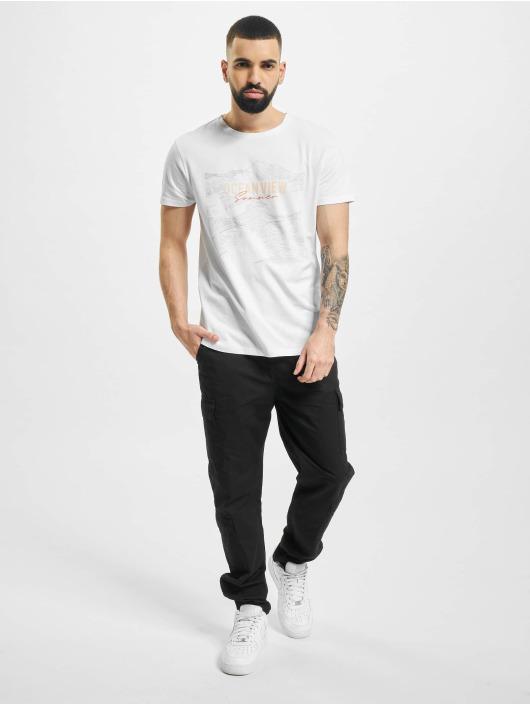 Stitch & Soul T-Shirt Ocean blanc