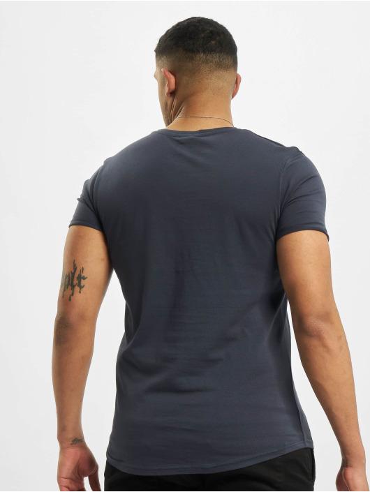 Stitch & Soul T-Shirt Natural blau