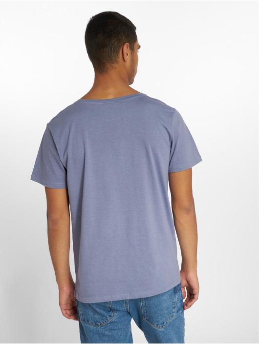 Stitch & Soul t-shirt Print blauw