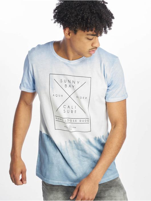 Stitch & Soul t-shirt Batik blauw