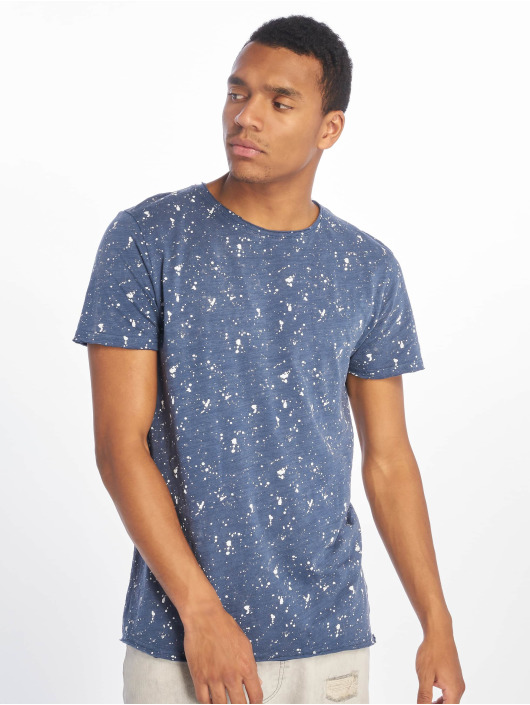 Stitch & Soul t-shirt Sprinkled blauw