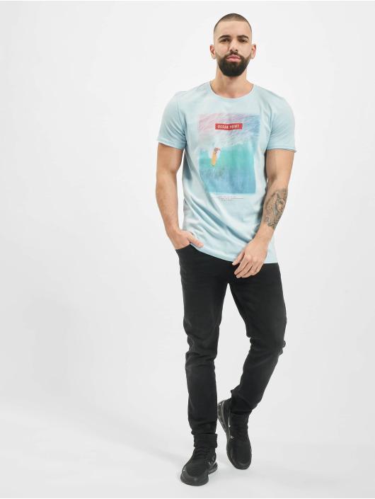 Stitch & Soul t-shirt Mystic blauw