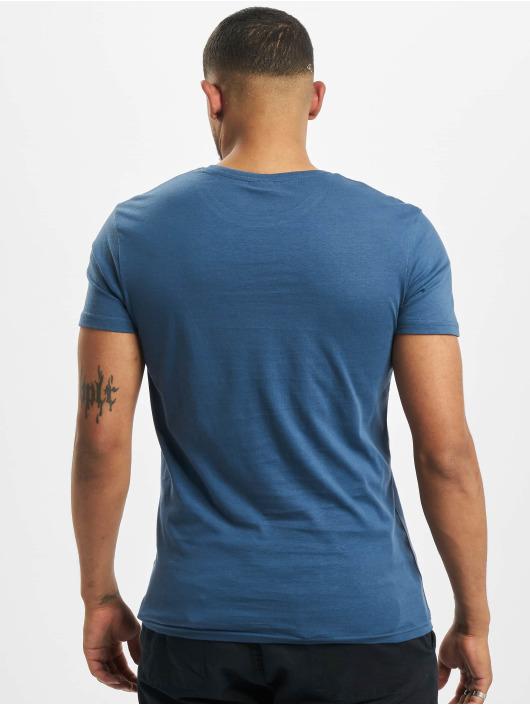 Stitch & Soul t-shirt Tropical blauw