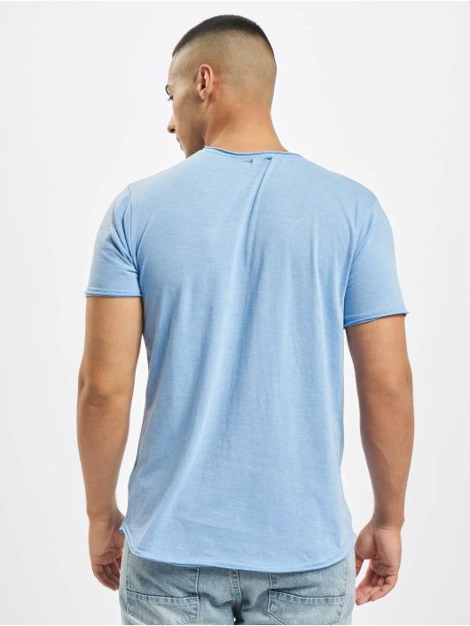 Stitch & Soul t-shirt Summer Paradise blauw