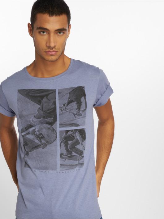 Stitch & Soul T-Shirt Print bleu