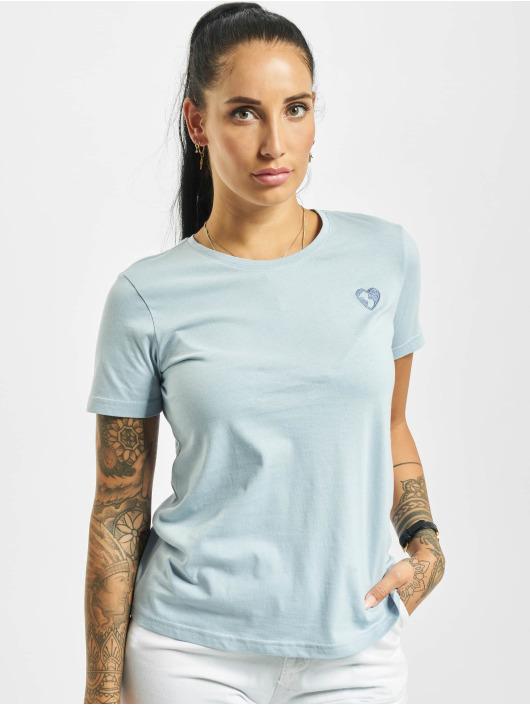 Stitch & Soul T-shirt Hearted blu
