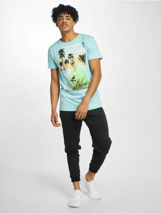 Stitch & Soul T-Shirt Living Paradise blue