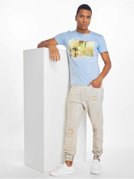 Stitch & Soul T-Shirt Summer Dreaming blue