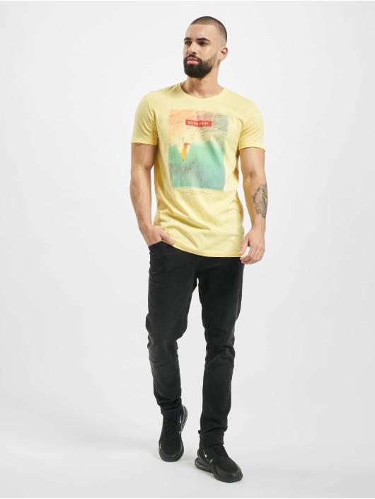 Stitch & Soul t-shirt Mystic geel