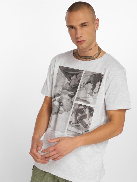 Stitch & Soul T-Shirt Print grau