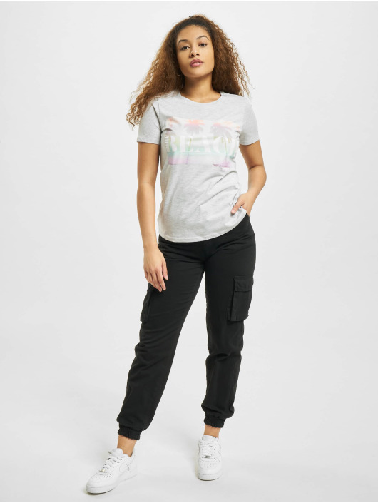 Stitch & Soul T-Shirt Beach grau