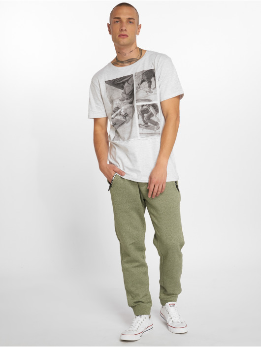 Stitch & Soul T-Shirt Print gray