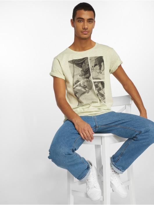 Stitch & Soul t-shirt Print groen