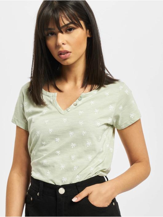 Stitch & Soul t-shirt Alea groen