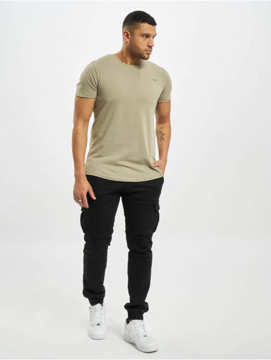 Stitch & Soul t-shirt Natural groen