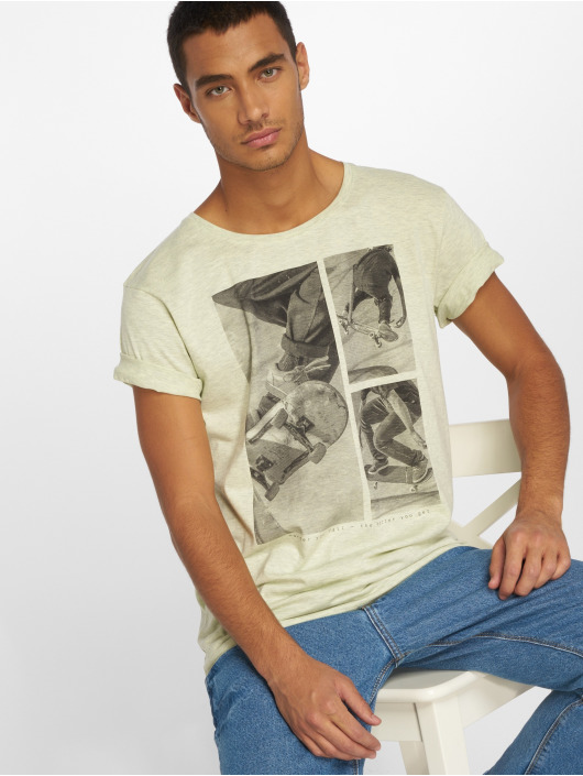 Stitch & Soul T-Shirt Print grün