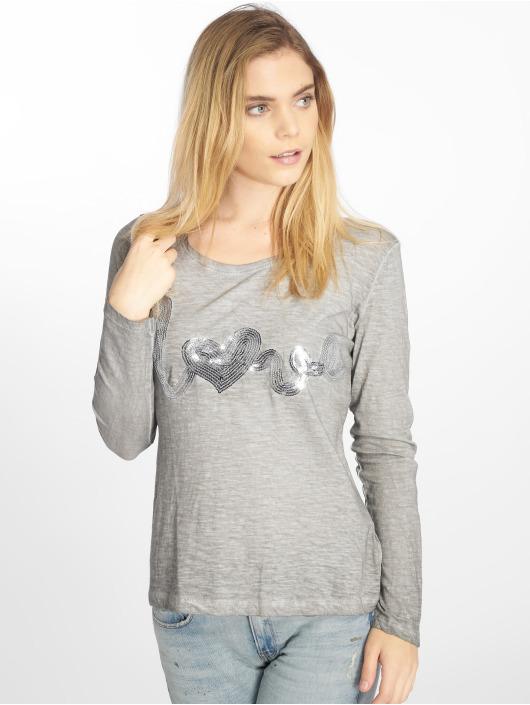 Stitch & Soul T-Shirt manches longues Love gris
