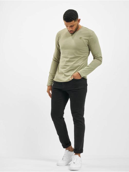 Stitch & Soul T-Shirt manches longues Milo olive