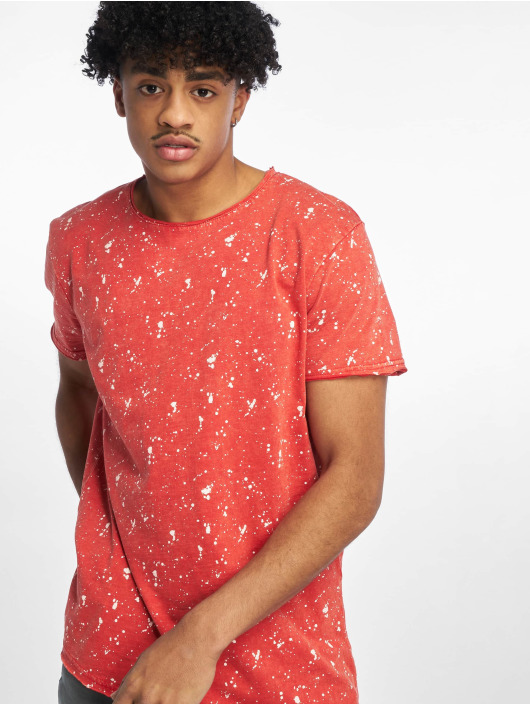 Stitch & Soul t-shirt Sprinkled rood