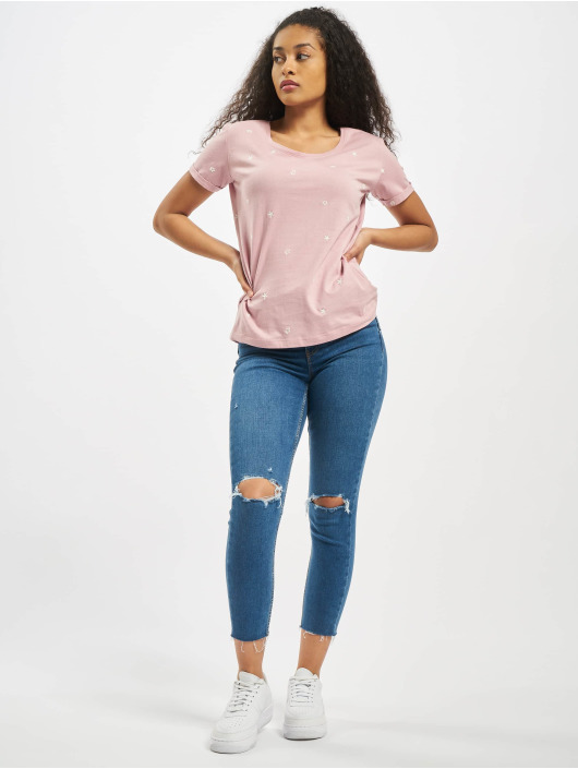 Stitch & Soul T-Shirt Sleeveless Roundneck rosa