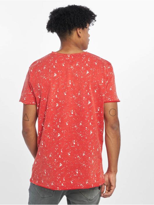 Stitch & Soul T-shirt Sprinkled rosso