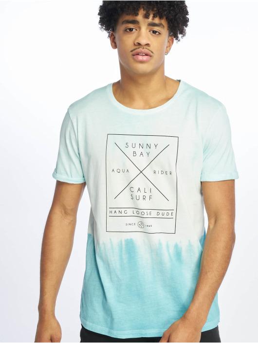 Stitch & Soul T-Shirt Batik türkis