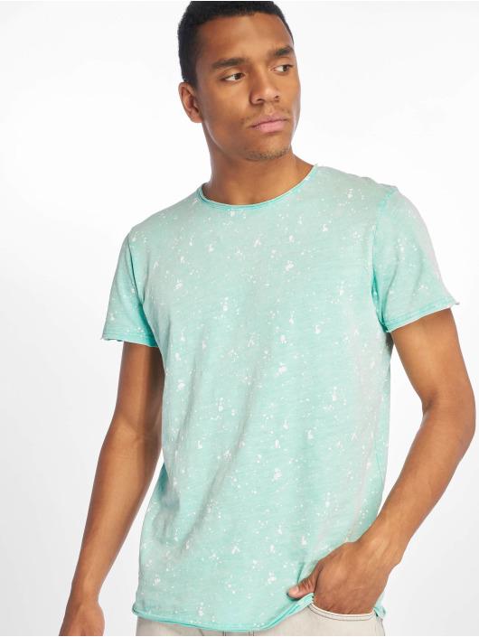 Stitch & Soul T-shirt Sprinkled turchese