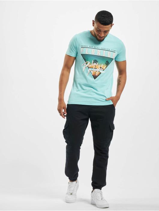 Stitch & Soul t-shirt Florida turquois