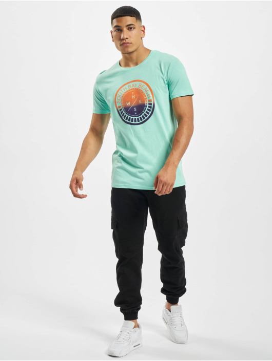 Stitch & Soul t-shirt Tropical turquois